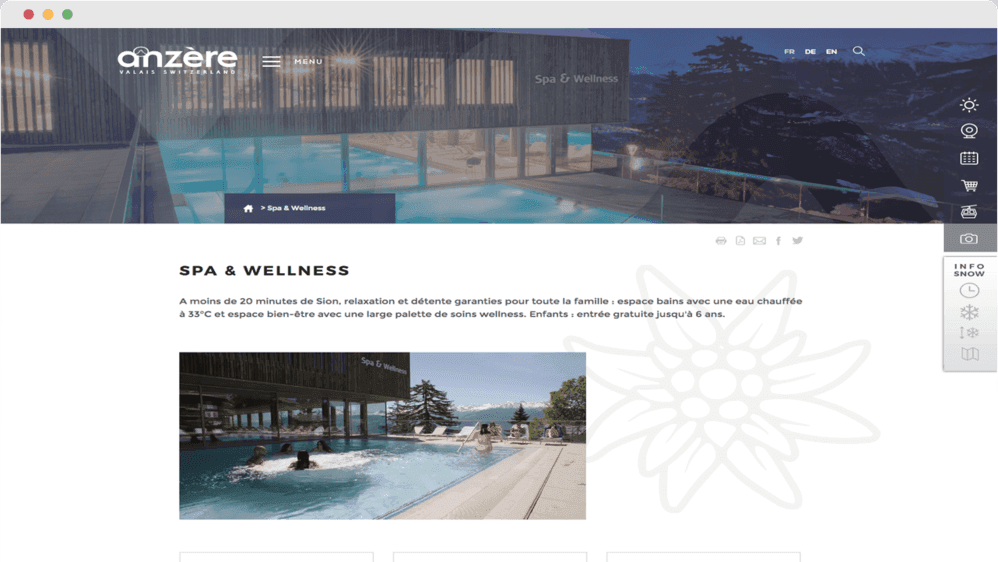 Anzère Spa & Wellness