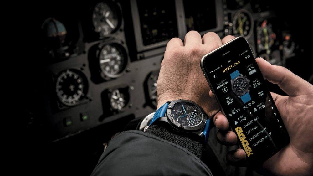 Breitling réinvente la montre connectée