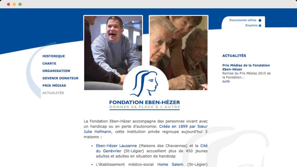 Fondation Eben Hézer