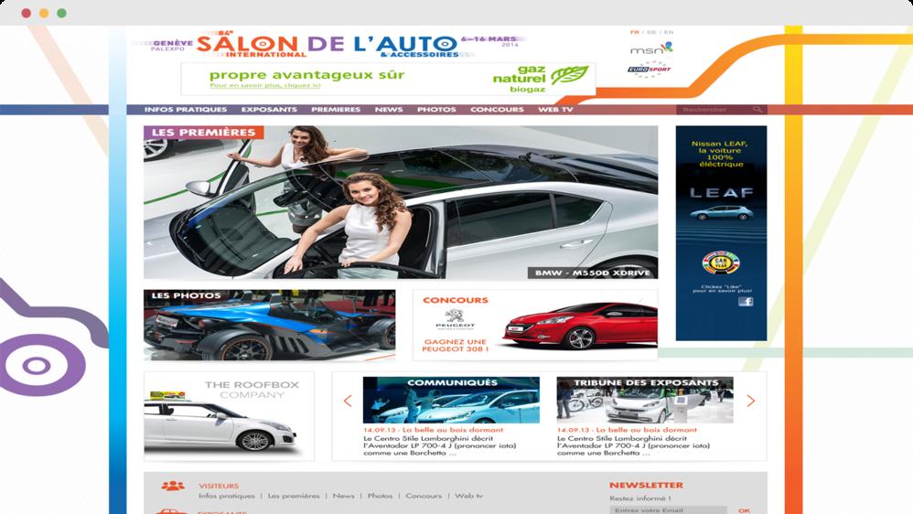 84ème Salon de l'auto 2014