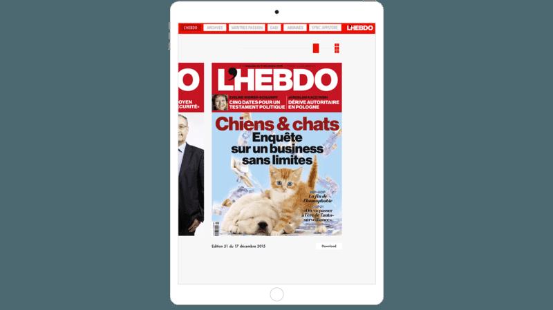 E-Paper mag and iPad