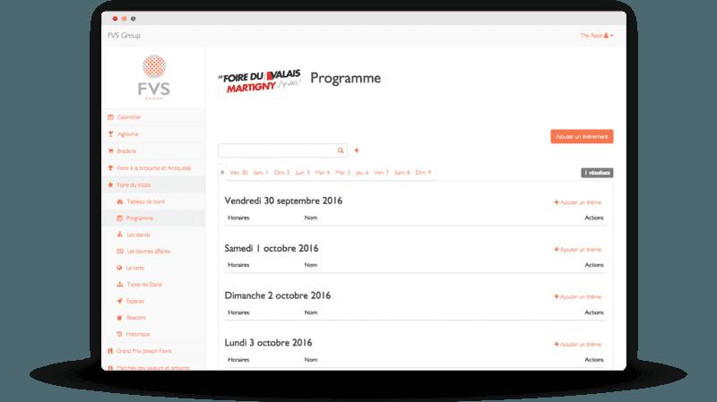 Events programm