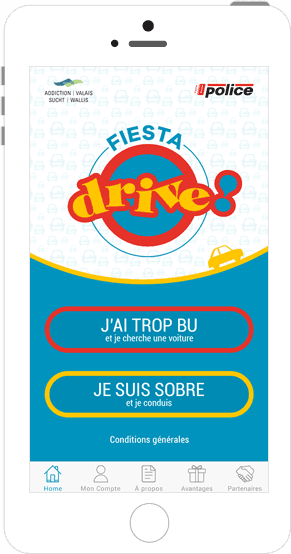 Fiesta Drive car-sharing application
