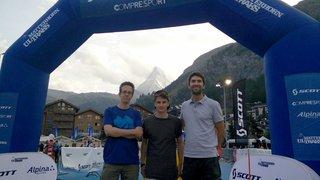 L'équipe iomedia finit 5ème du relais entreprise lors du Matterhorn Ultraks 2017